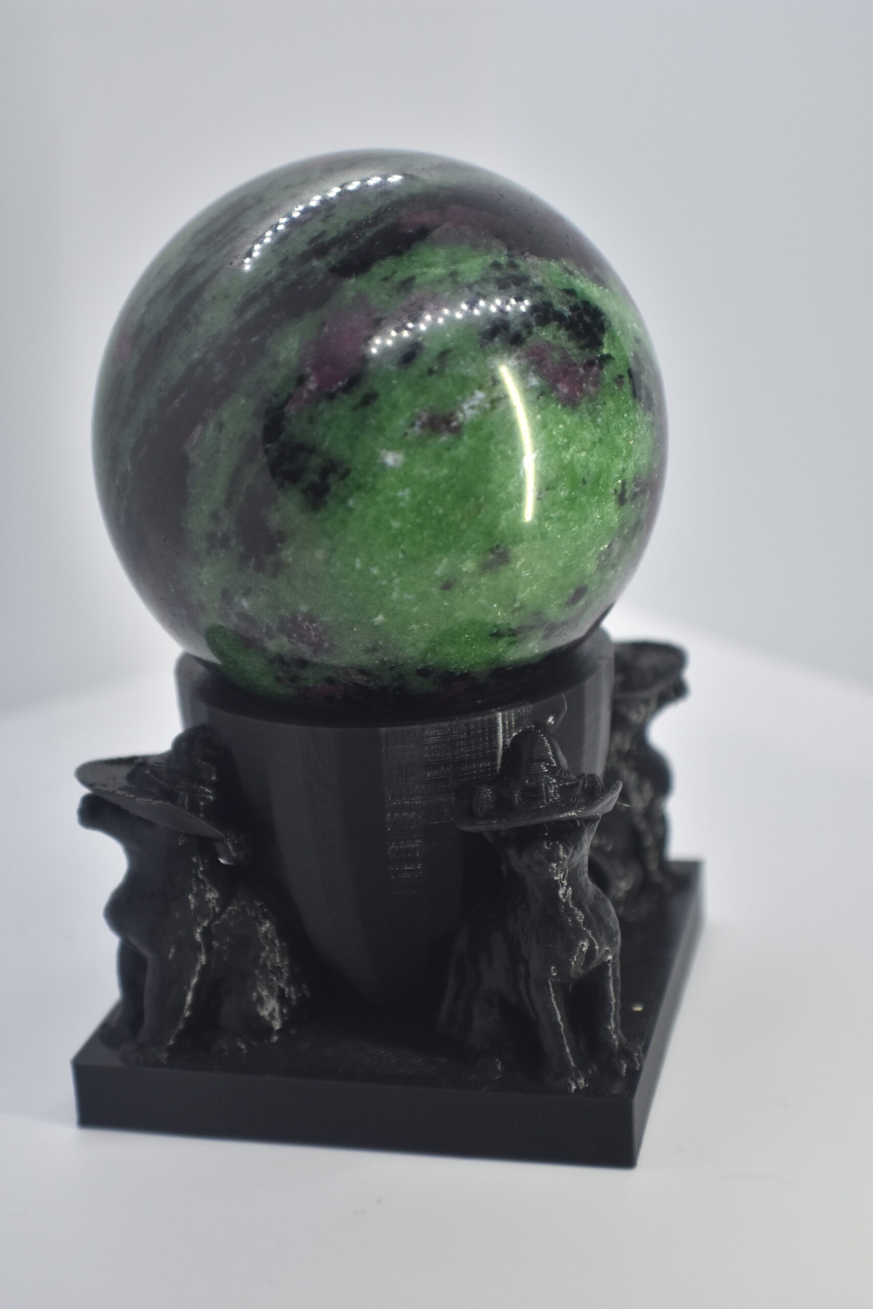 Witch Cat Sphere Holder